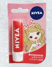 NIVEA LIP BALM CARE FRUITY SHINE STRAWBERRY SPF10 8-HOUR MOISTURE 4.8 g.