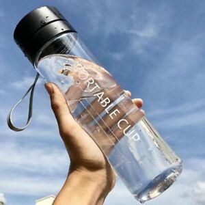 1 Pc Large Capacity Sports Fruit Lemon Juice Drinking Water Bottle Infuser Clear