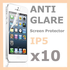 10 x Matte Anti Glare Screen Protector LCD Film for Apple iPhone 5S 5C 5 5G