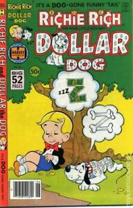 Richie Rich and Dollar the Dog #6 FN- 5.5 1979 Stock Image Low Grade