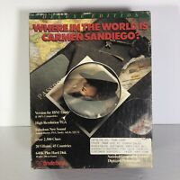 IBM PC Where in the World is Carmen Sandiego Deluxe Edition 1990 Tandy