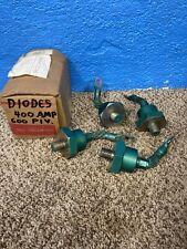 4 Diodes 400 Amp  600 PIV NOS New