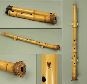 尺八 SHAKUHACHI Bamboo 琴古流 KINKO-ryu 鈴風 RINPU Japanese traditional Instrument S200