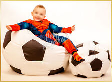 FOOTBALL ARMCHAIR for children and more, XXXL , 350l bean bag ,one ball for free