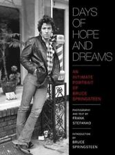 Days of Hope and Dreams: An Intimate Portrait of Bruce Springsteen-ExLibrary