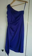 Oli one shouldered dress sz 10