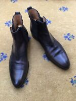 Berluti Mens Shoes Brown Leather Chelsea Ankle Boots UK 9.5 US 10.5 EU 43.5
