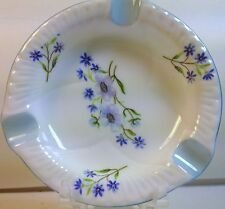 Shelley China Ashtray in Blue Rock No. 13591
