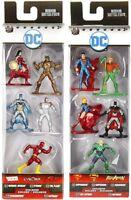 JADA Nano Metalfigs DC Comics 5 Pack Metal Figures Superman Batman Aquaman