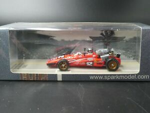 Spark 1:43 Mario Andretti Brawner Hawk Indy 500 Winner 1969 43IN69 NEW resin