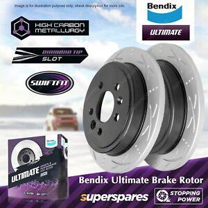Bendix Ultimate Front Disc Brake Rotors for Mitsubishi TRITON ML MN MQ MR