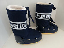 Tecnica The Original Moon Boot Blue Women Size EU 31/34 US 13-2