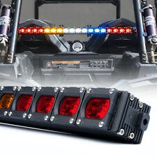 Xprite UTV ATV 4x4 Rear Chase Light Bar with Running Reverse Brake Strobe Lights