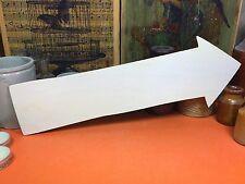 WOODEN RUSTIC VINTAGE ARROW SIGN FOUR Shape 34.5cm (x1) wood shapes wedding
