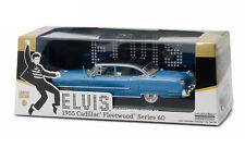 "Greenlight: 1955 Cadillac Fleetwood ""Elvis's Cadillac"" (Blue) 1/43 Scale"