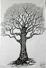 Indian Cotton Tapestry Mandala Tree of Life Dry Wall Hanging hippy Throw hippie