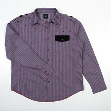 Black Label Premium PURGATORY Shirt 100% Cotton Mens 2XL