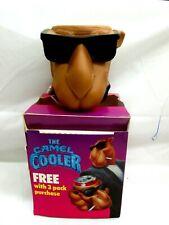 Vintage New in Box 1991 The Camel Cooler Joe Camel Rubber Can Cooler Koozie