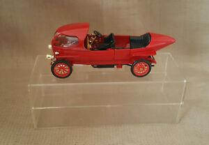 vintage rare Rio Alpha 40 60HP Ricotti 1/43 diecast red toy car Rio plastic case