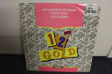 "12"" VINYL RECORD, ATLANTIC STARR ""SECRET LOVERS"" ""SILVER SHADOW"" 12 INCH GOLD,"