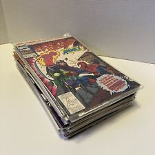 Vintage Comic Book Mixed Lot Of 29 Spiderman Marvel DC