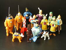 COMPLETE SET(14) TINTIN FIGURINES HERGÉ/MOULINSART 2002 BRAND NEW