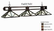 Pool Billiard Table Light Chateau English Tudor CHA-B56 ET  w/ FREE Shipping
