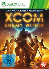 XCOM: Enemy Within -- Commander Edition (Microsoft Xbox 360, 2013, DVD-Box)