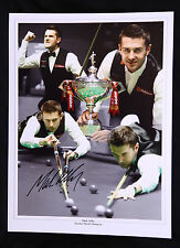 More details for mark selby world champion signed 12x16 snooker montage