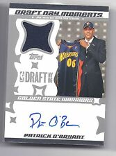 2006-2007 Topps Big Game Patrick O'Bryant Draft Day Moments Auto/Jsy RC #009/199