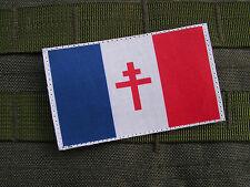 SNAKE PATCH - FRANCE LIBRE WW2 FFI US jeep Lorraine AF écusson patch logo ombre
