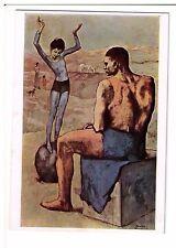 Postcard: Acrobate a la Boule, Pablo Picasso