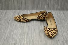 *Walking Cradles Raya W-114906 Flats - Women's Size 7.5 Ww, Leopard Calf