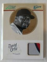 "2012 Prime Cuts David Ortiz ""Century"" Jersey Relic /10 Red Sox !"