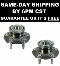 2 Rear Wheel Hub and Bearing Assembly fits FORD TAURUS w/ ABS and REAR DRUM