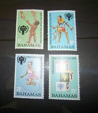 BAHAMAS SC 446 447 448 449 ( SG 535 - 538)  INT'L YEAR OF THE CHILD  MNH 1979