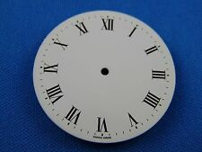 Unbranded White Watch Dial Part -Latin Numbers- 36.5mm -Swiss Made-  #324