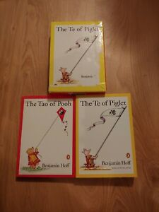 The Tao of Pooh & Te of Piglet by Benjamin Hoff (1994 Trade Paperback, Box Set)