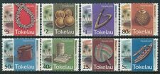 1994 TOKELAU HANDICRAFTS COMPLETE SET OF 8 FINE MINT MNH