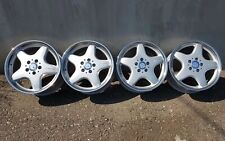 "Mercedes 17"" 7.5/8.5J AMG I alloy Wheels W201 W202 W203 W124 W208 C43 CLK55"