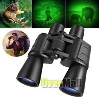 Day+Night 100X180 HUGE Power Zoom Military Grade Hunting Binoculars w/Pouch 2020