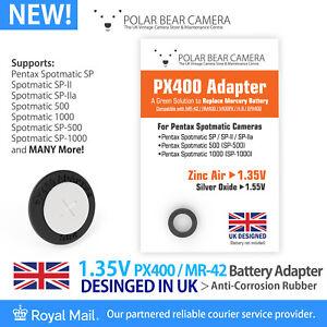 1.35V PX400 MR-42 RM400 H-B MRB400 Adapter Only For Spotmatic SP Camera UK