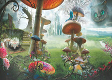 Alice in Wonderland Backdrop Photography background Studio Photo Prop 9X6FT 2568