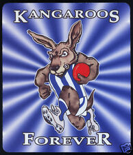 1  x NORTH MELBOURNE KANGAROOS OR OTHER AUSSIE RULES MOUSE MAT / SMALL PLACE MAT