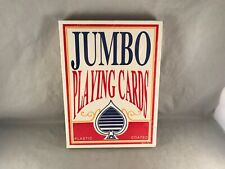 """Super Jumbo 11"""" x 8"""" Deck of Playing Cards Sealed New Unused! Giant!"""