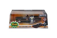 1:24 Classic TV Series Batmobile w Batman Figure Jada Toys Die-cast Car NIB