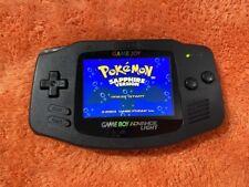Nintendo Game Boy Advance LIGHT - V2 IPS LCD and Glass lens BLACK