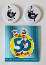 Dr Seuss Audio Book Cd Cat in the Hat Kelsey Grammer & Read Across America Pins
