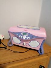 Vintage Disney Princess CD Player  And Mirror