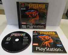 Game SONY Playstation PSOne PSX PS1 PAL ITALIANO SPIDER-MAN Spiderman Uomo Ragno